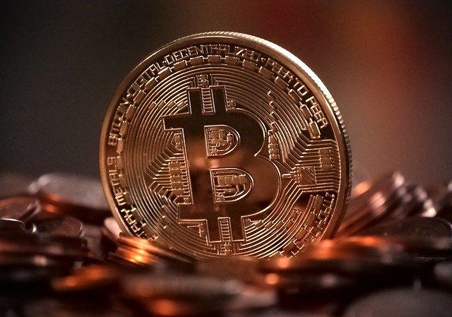オンラインカジノに入出金するビットコインのイメージ画像