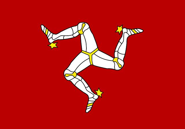 マン島国旗