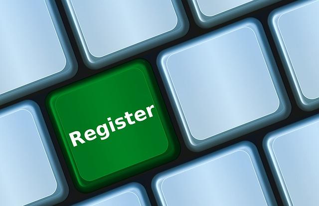登録のイメージ画像