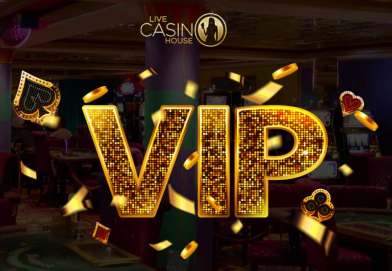 ライブカジノハウスのVIPイメージ画像