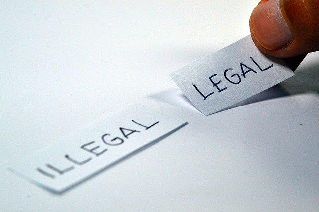 違法性・合法性のイメージ画像